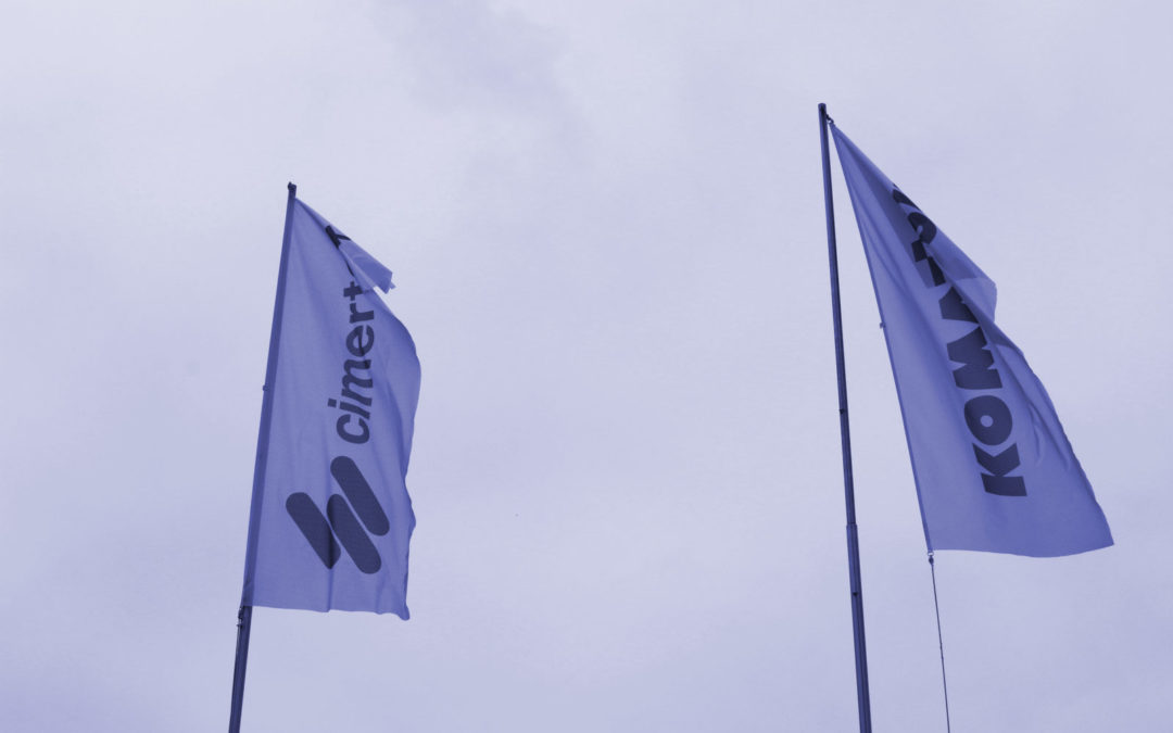Cimertex and Komatsu: A history of 50 years of success