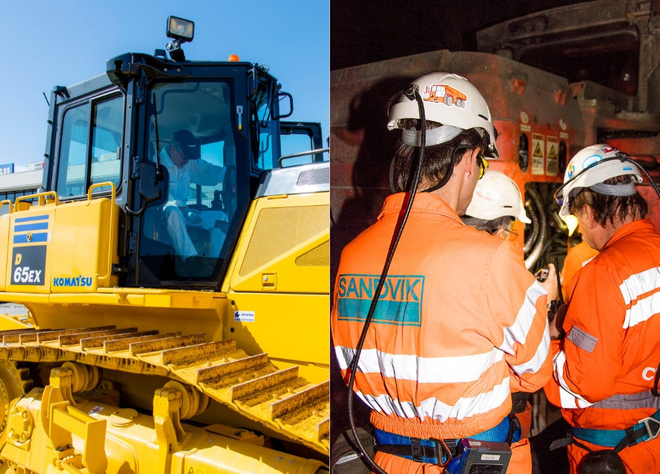 Construção, indústria, minas e floresta são as áreas com maior procura de equipamentos na Cimertex