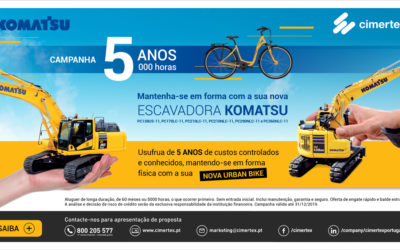 Campanha Escavadoras Komatsu