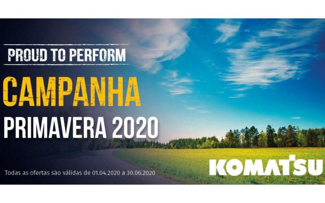 Campanha Primavera Komatsu