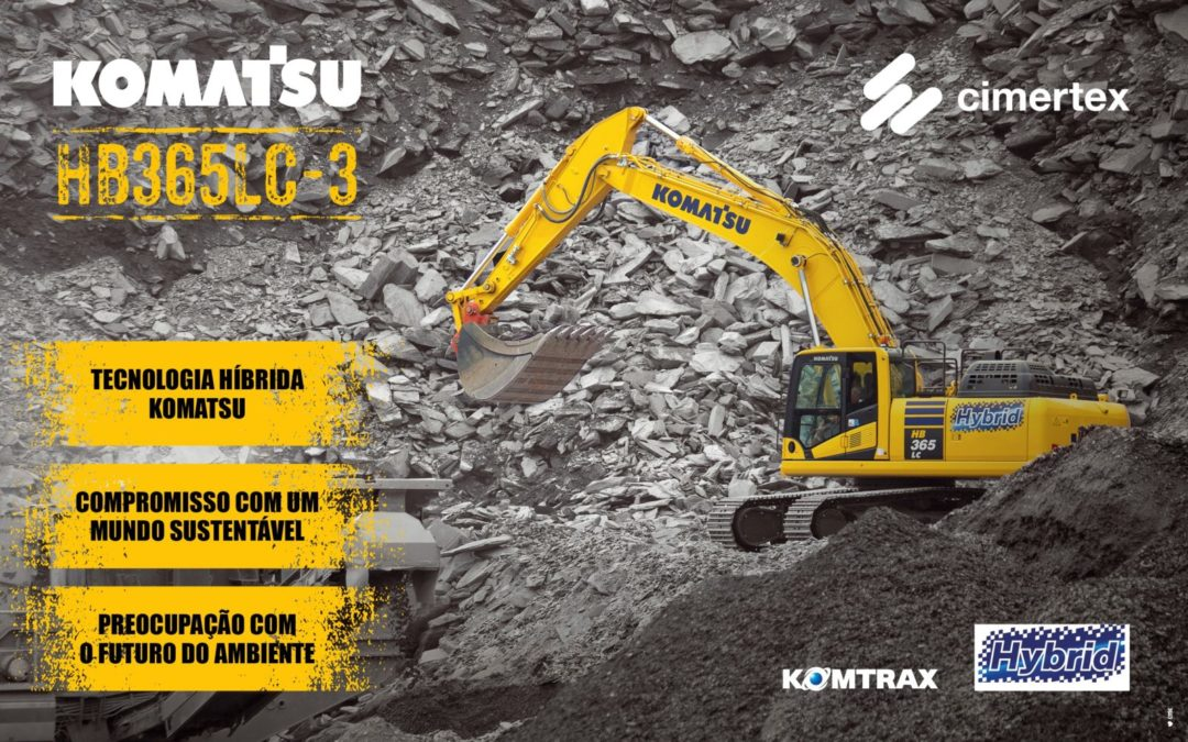 Komatsu HB365LC-3 Hybrid Excavator