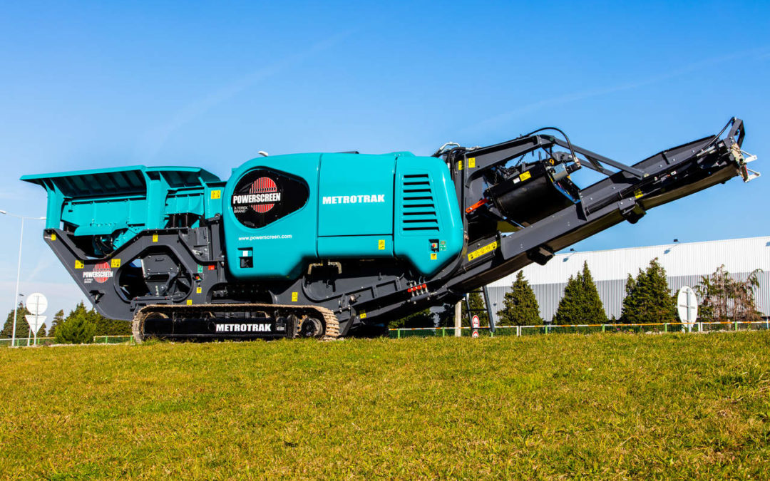 Cimertex Has Received Its First Powerscreen Machine