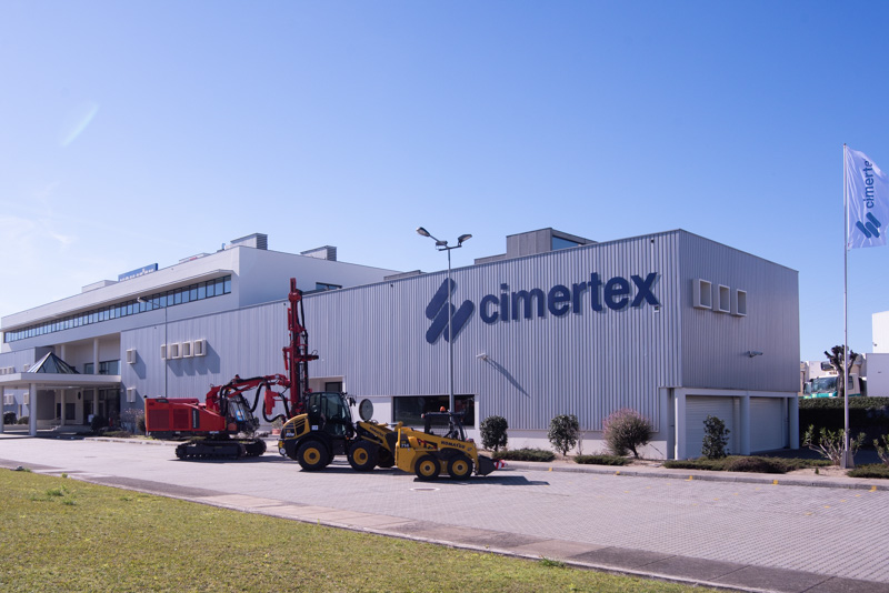 Cimertex equipment family: the proximity to the brands