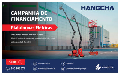 Campanha Plataformas Elétricas Hangcha