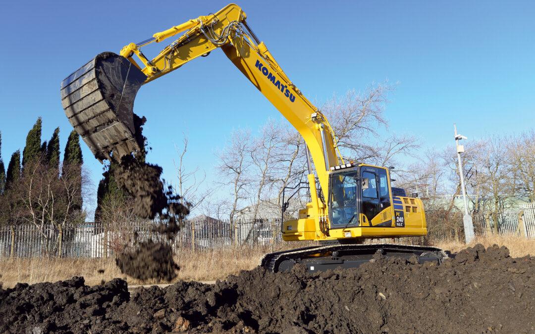 Crawler Excavator Komatsu PC240NLC-11