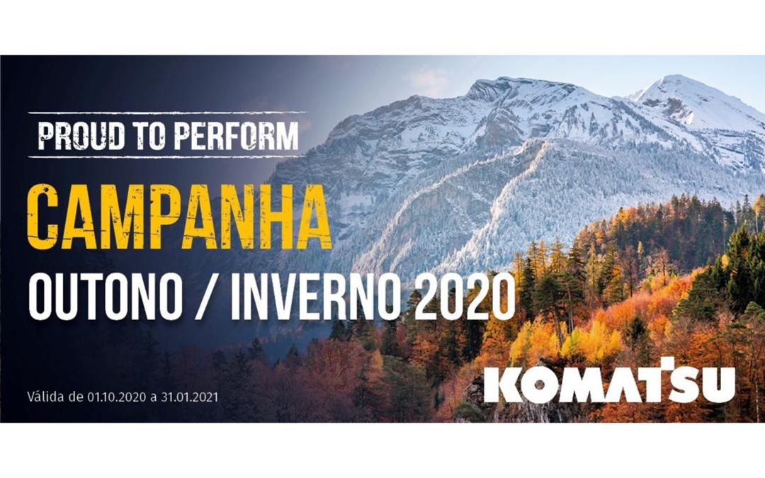 Campanha Komatsu Outono / Inverno 2020